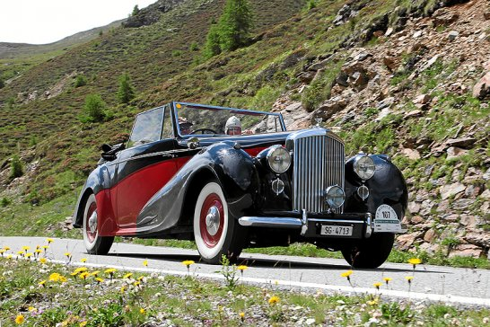 The 19th British Classic Car Meeting, St Moritz – this weekend