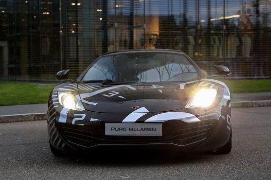 McLaren-Driving-Event bei Hugo Boss: Fashion meets Performance