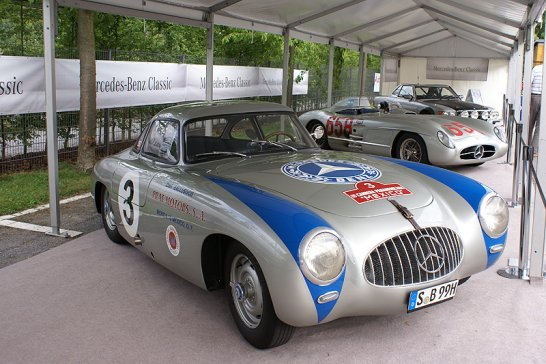 Classic Days Schloss Dyck 2012: Park and Ride