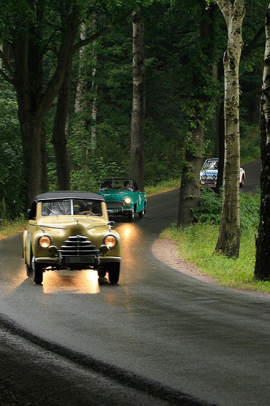 Wild Wild East: Sachsen Classic 2012 im Skoda Tudor