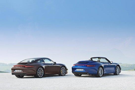Porsche 911 Carrera 4 und 4S: Allradantrieb für den neuen Elfer