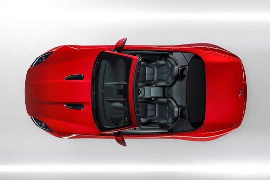 Jaguar F-type: E becomes F