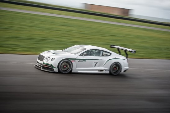 Bentley Continental GT3: Back on the Track