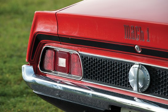 Ford Mustang Mach 1: Bond's favourite pony