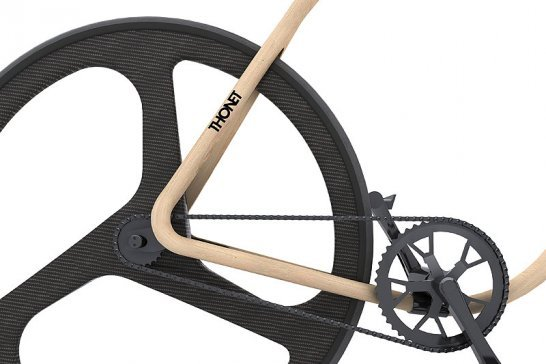 Thonet Concept Bike: A chair takes to the road