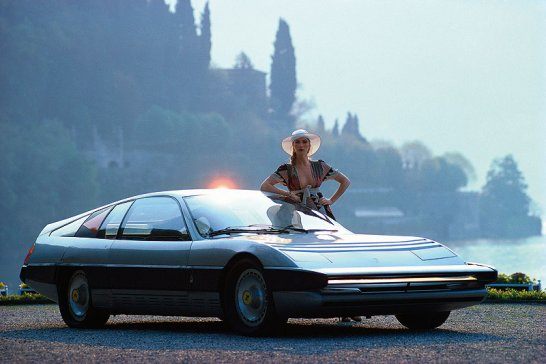 The Gentleman's Library: 70s Concept Cars - Yesterday's Dreams of the Future