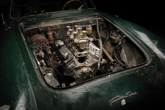 Lancia Flaminia Zagato by Thornley Kelham Ltd: Restoration stage zero