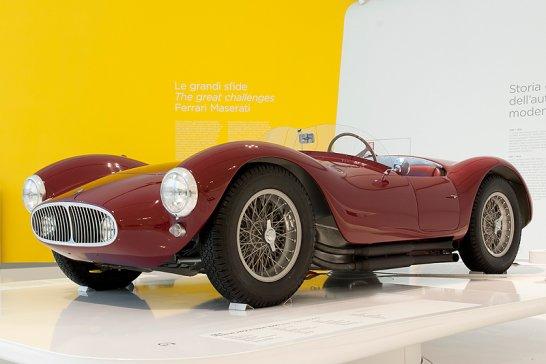 Track Rivals: Ferrari and Maserati exhibition in Modena