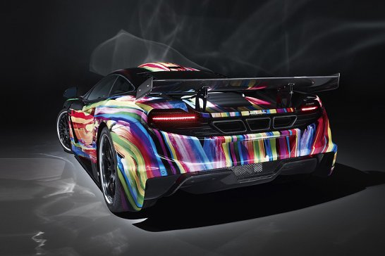 McLaren memoR by Hamann: Psychedelic patrol
