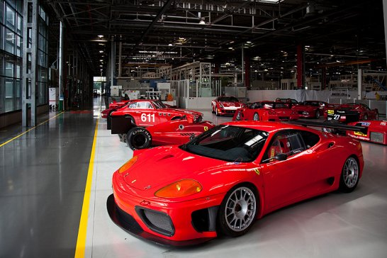 Secrets of the Ferrari museum