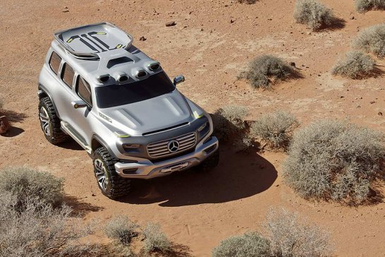 Mercedes-Benz Ener-G-Force: Off-road into the future
