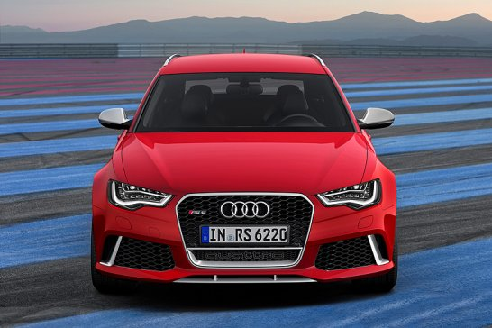 Der neue Audi RS6 Avant: Kraftwerk mit 560 PS