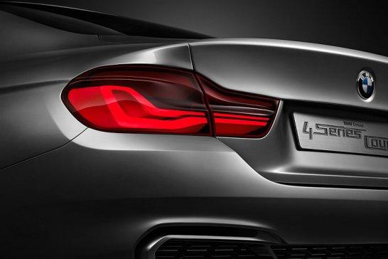BMW 4 Series Coupé concept: 3 + 2 (doors) = 4