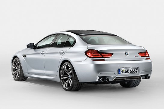 552bhp for New BMW M6 Gran Coupé