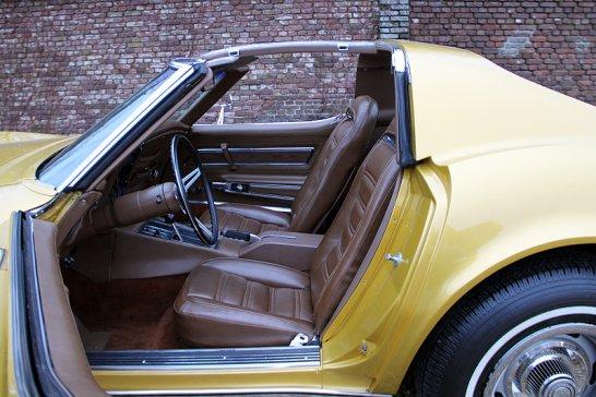 Chevrolet Corvette Stingray C3: Mako Shark styling for the showroom