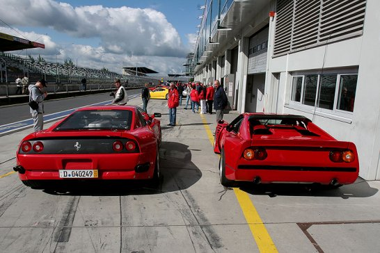Modena Trackdays 2013 at Spa: Ferrari boot camp