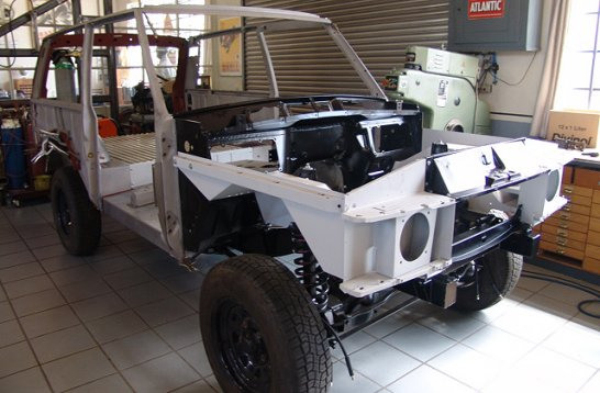"Work in Progress: Komplettrestaurierung eines Range Rover Classic ""Novaswiss Turbo"""