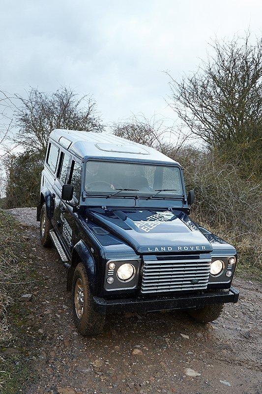 Land Rover Defender Electric: The 'Lion Whisperer'
