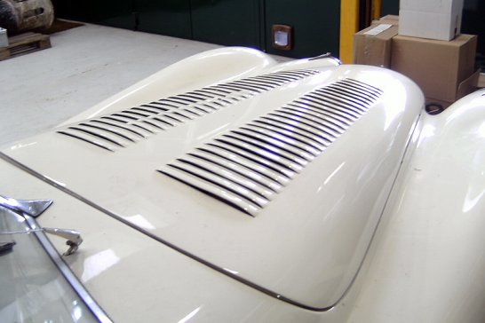 Under Construction: Restoring Clark Gable's specially modified Jaguar XK120