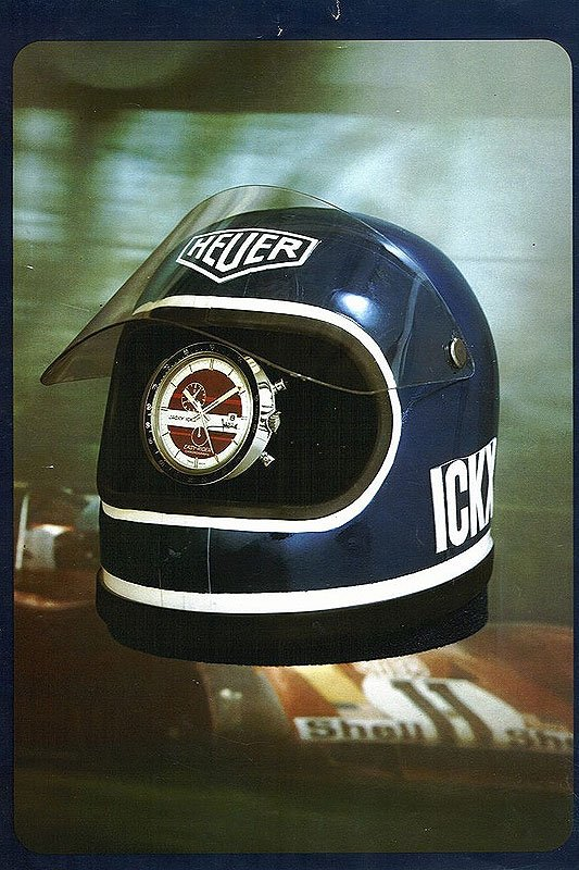 Heuer 'Easy-Rider': Ickx marks the spot