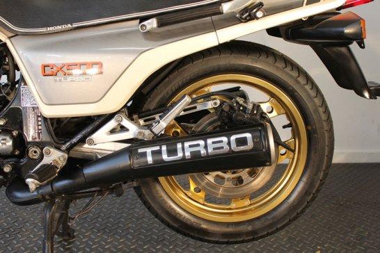 Honda CX 500 Turbo: Nippon-Power
