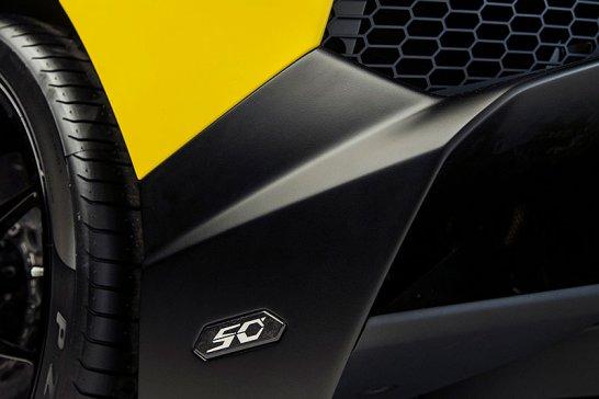Lamborghini Aventador LP 720-4 50° Anniversario: Jubiläumsstier im Wespenkleid