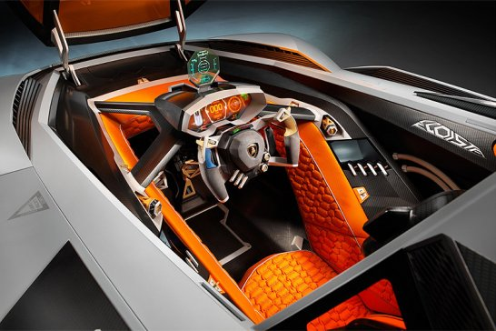 Lamborghini Egoista: Selfish in the extreme