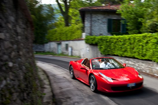 La Vita é Bella: Taking a Ferrari 458 Spider to Bellagio