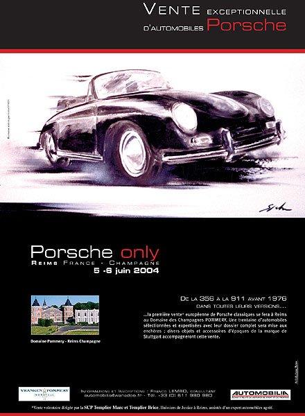 All-Porsche auction in Reims, June 5 - 6 2004