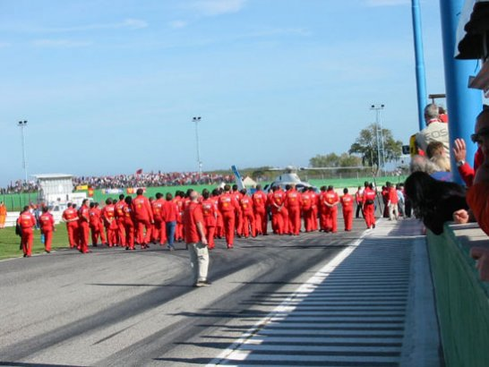 Ferrari in Misano