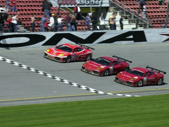 Second place for the Ferrari 360 GT in the Daytona 24 Hours
