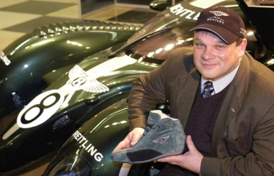 Bentley Boys commission hand-crafted racing shoes