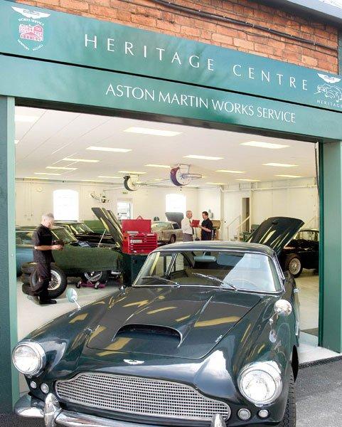 Aston Martin Lagonda Launches Heritage Restoration Centre Classic Driver Magazine