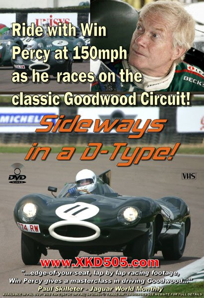 DVD Review - 'Sideways in a D-type!'