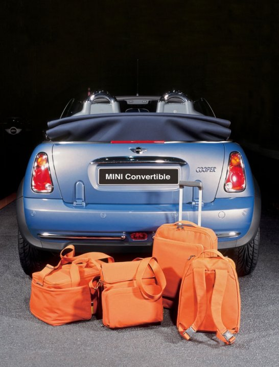 Bags of space - New range of MINI luggage