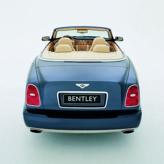 Bentley Arnage Drophead Coupe gets green light for production