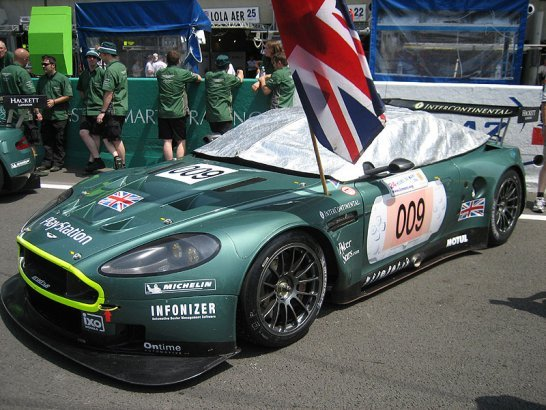 Aston Martin at Le Mans and the 'Ring 2006