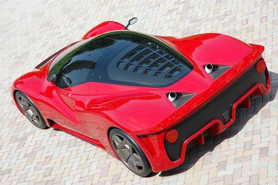 Ferrari P4/5 by Pininfarina at Pebble Beach 2006