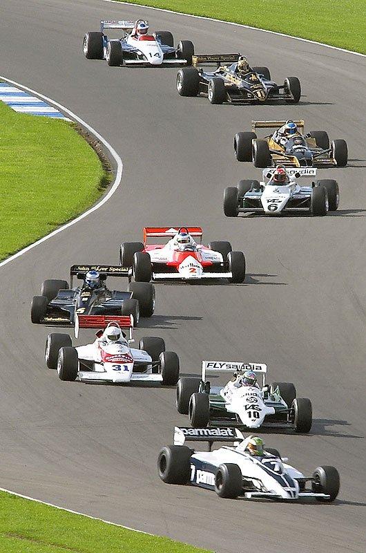 SeeRed and GP100 at Donington Park 2006