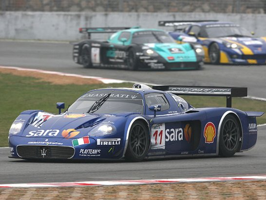 Round One of the 2007 FIA GT Championship