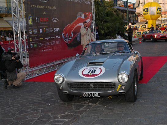 The 2007 Coppa Milano-Sanremo Historic Rally