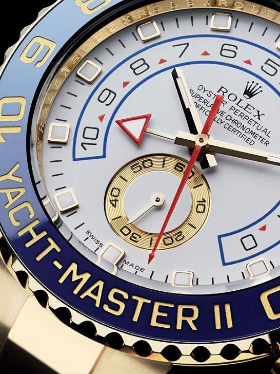Rolex Yacht Master II: Zielgenau