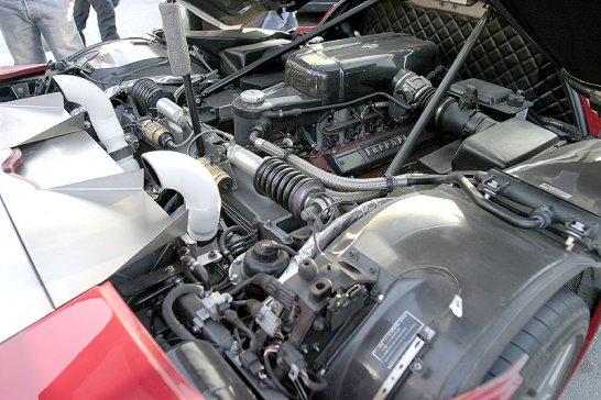 Jim Glickenhaus and the 2006 Pininfarina  Ferrari P4/5