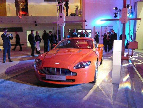 Aston Martin opens new Design Studio and unveils V12 Vantage RS concept