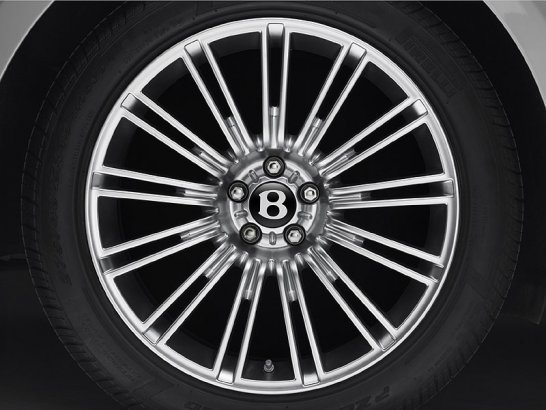 Bentley Revises its Continental Flying Spur