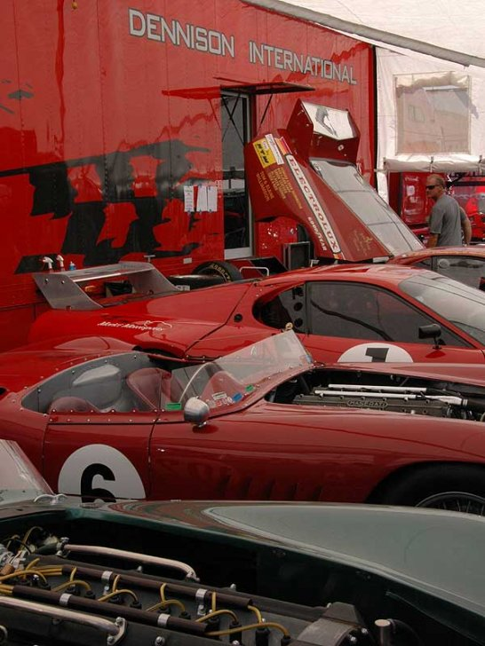 A Day at the Races: The 2008 Rolex Monterey Historics
