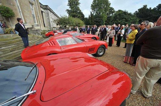Fine Classic Cars at Tyringham Hall 2008