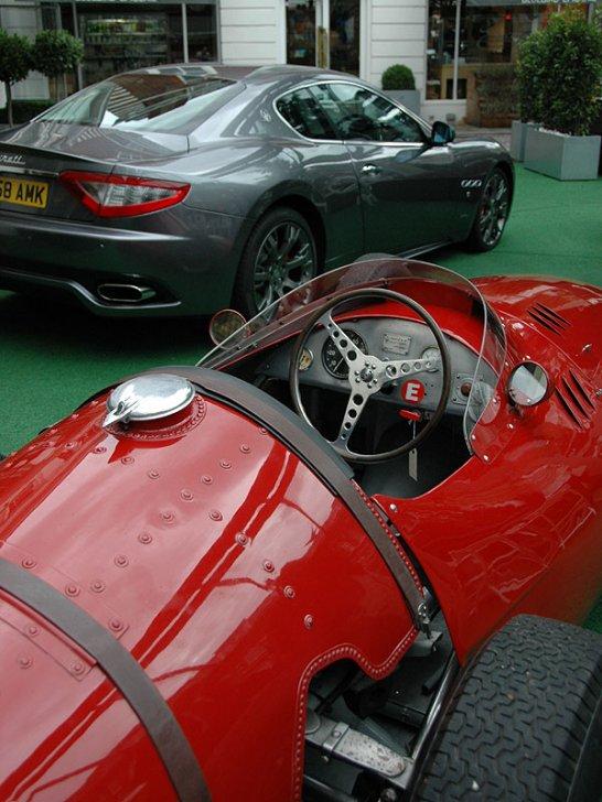 Maserati GranTurismo S makes its Debut in London