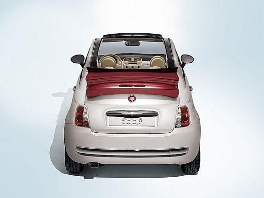 Fiat 500C: Cabriolet for Launch at 2009 Geneva Show