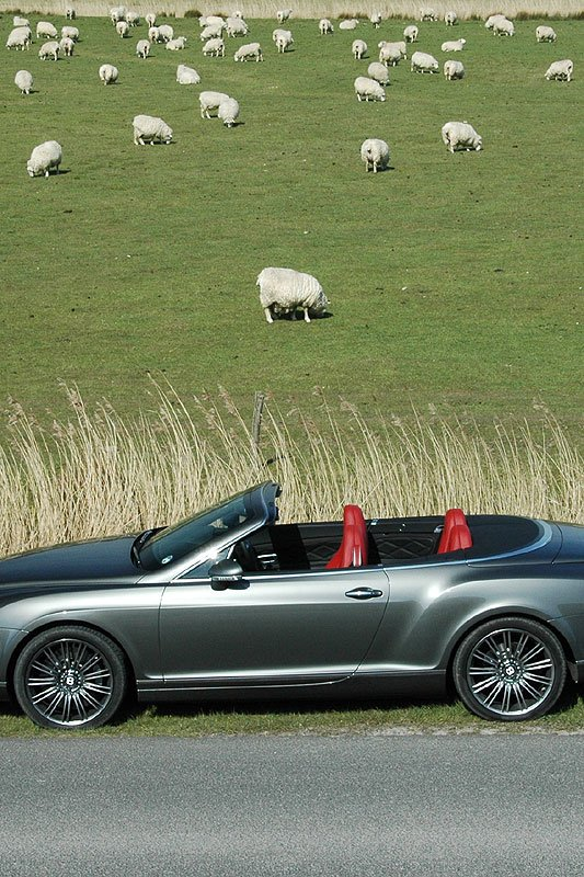 Nuclear Power: Bentley Continental GTC Speed